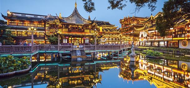 Voyage jardin du mandarin yu chine comptoir des for Jardin yu shanghai