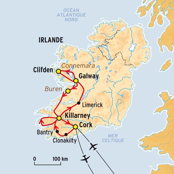 Autotour d couverte de l 39 ouest irlandais comptoir des voyages - Comptoir irlandais tours ...