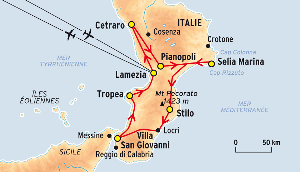 Lamezia italie carte   passions photos
